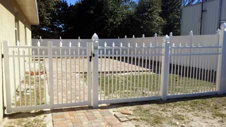 C Amp S Vinyl Fence Picket Fence